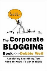 Corporate blogging book